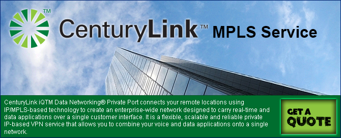 CenturyLink iQTM Data Networking® Private Port connects your remote locations using IP/MPLS-based technology to create an enterprise-wide network designed to carry real-time and data applications over a single customer interface.