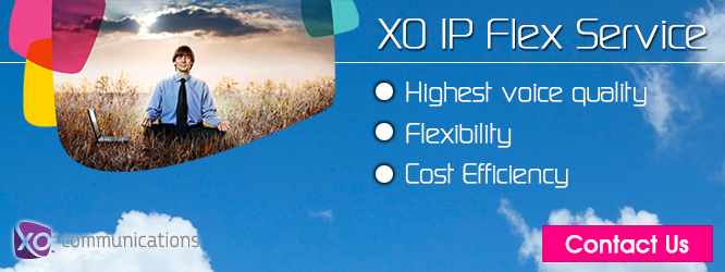 XO IP Flex Service is VoIP solution that simplifies your communications.