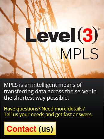 Level3 MPLS accelerates your website speed and efficiency that has a direct effect on your sales.