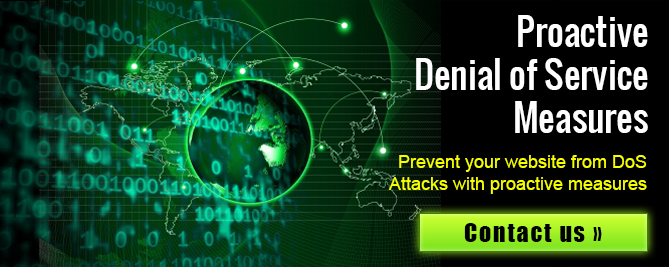 Prevent your website from DoS Attacks with Proactive Measures